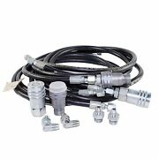 Bradco 102488 Hose Kit For 100853 Mini Swing Backhoe Attachments W 4 Couplers
