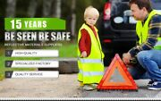 1800 Pc Visibility Reflective Safety Vest Signal Construction Traffic Security