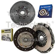 Luk 2 Part Clutch Kit And Sachs Dmf For Lancia Thesis Saloon 2.4 Jtd