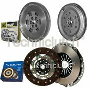 Sachs 2 Part Clutch Kit And Luk Dmf For Audi A3 Convertible 2.0 Tdi