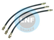 Lincoln Club Coupe 66h 76h 876h Brake Hose Front Rear Set X3 46 47 48 1946-1948