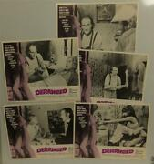 Deranged Movie Lobby Card Lot 5 Confessions Of A Necrophile '74 Ed Gein Horror