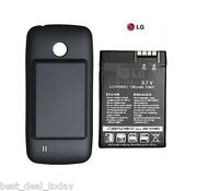 Oem Lg Extended Life Battery +door For Cosmos Touch Vn270 Verizon Vn-270 1500mah
