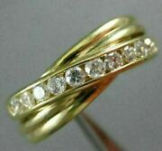 Antique Wide .22ct Old Mine Diamond And Aaa Ruby 14kt Yellow Gold Harp Ring 22463