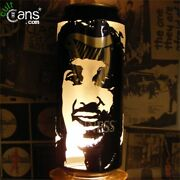 Phil Lynott Beer Can Lantern Thin Lizzy Pop Art Guinness Lamp, Unique Gift