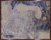 7and039 10 X 10and039 5 Foot Print Hand Knotted Wool And Silk Area Rug - Q2136