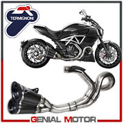 Ducati Diavel Exhaust Complete Termignoni Carbon Not Approved