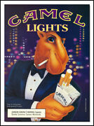 1992 Tobacco Ad For Camel's Light With Joe Camel
