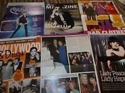 Liza Minnelli Celebrity Clippings Pack Good Condition
