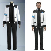 Detroit Become Human Connor Rk900 Jackets Uniform Cosplay Costume Full Set Andt