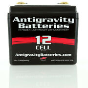 Antigravity Batteries 12 Cell Lithium Ion Small Case Custom Motorcycle Battery