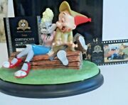 Bugs In Drag Elmer Turned On Goebel Looney Tunes Statue Elmer And Bugs Bunny