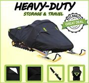 600d Snowmobile Cover Polaris 600 Indy Adventure 137 2020 2021 W/low Windshield