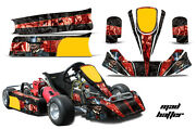 Go Kart Graphics Kit Decal Sticker Wrap For Paul Tracy Pkt Kid Jr Cadet Mad R K