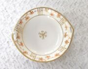Rare Vintage Hand Painted With Gold Beading Nippon Morimura Bowl