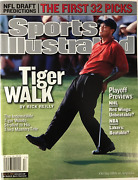 Tiger Woods Unsigned Sports Illustrated Magazine April 22 2002