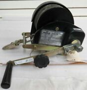 Pelsue Ph07c Personnel Hoist With 70' Stainless Steel Cable And Bracket