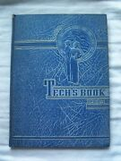 1945 Hume Fogg High School Yearbook Nashville Tennessee Techand039s Book Unmarked