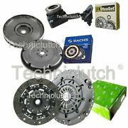 Valeo 2 Part Clutch And Sachs Dmf With Luk Csc For Ford Focus Convertible 2.0