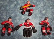 Eagle Games Room Hockey Chicago Black Hawks 1970and039s Table Hockey Game