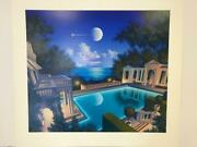 Jim Buckels Freccia D'ore Hand Signed And Numbered Limited Edition Serigraph W