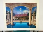 Jim Buckels Villa Visconti Hand Signed And Numbered Limited Edition Serigraph