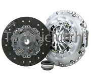 3 Piece Clutch Kit Inc Bearing 240mm For Peugeot 308 Sw 2.0 Hdi