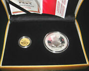 The Commemorative Beijing 2008 Olympic Games 24ct Gold And Silver Proof Coins