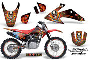 Graphics Kit Decal Wrap + Plates For Honda Crf150 Crf230f 2008-2014 Edhp Red