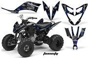 Atv Decal Graphic Kit Quad Sticker Wrap For Yamaha Raptor 250 2008-2014 Toxic U