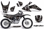 Graphics Kit Decal Wrap + Plates For Honda Crf150 Crf230f 2008-2014 Bfly S K
