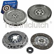 Nationwide 3 Part Clutch Kit And Sachs Dmf For Audi A3 Hatchback 1.6 Tdi