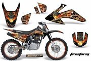 Graphics Kit Decal Wrap + Plates For Honda Crf150 Crf230f 2008-2014 Firestorm