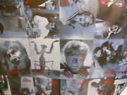 Universal Monsters Classic Horror Movies Rare Vintage Uncut Card Sheet 1990