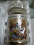 Disney Lenox Snow White And The Seven Dwarfs Fine Porcelain Coffee Canister 1998