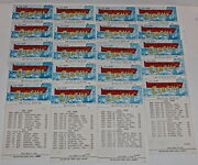 Clark-walters Circus, 1964 Period Lot Of 21 Route Cards