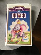 Dumbo Vhs 1998 Rare Masterpiece Collection