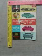 1957 Cars Of The World Motor Trend Vintage Magazine Guide Book 200+ Cars Rare