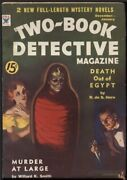 Two-book Detective Magazine 1933/1934 December/january 3. Mummy Cover. Pulp