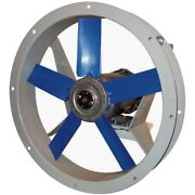14 Flange Mounted Supply Fan - 1500 Cfm - 230/460 Volts - 3 Ph - 1 Hp - Tefc