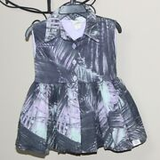 Girls Bijou Sauvage Clothier Palm Springs Willow Dress Boutique Size 2/2t Summer