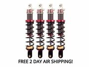 Elka Stage 2 Front And Rear Shocks Suspension Kit Yamaha Grizzly 550
