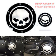 Skull Accessories Engine Derby Timer Cover For Harley Sportster Xl883 1200 72 48
