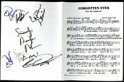 Signed Music Sheet For Music Video - Susan Anton, Marilyn Mccoo, Etc.