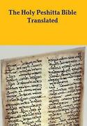 The Peshitta Holy Bible Translated By David Bauscher English Hardcover Book Fr