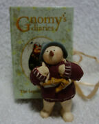 Gnomy's Diaries Legend Of Snowtime Snowman With Ice Skates Figurine Annekabouke