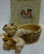 Gnomy's Diaries Legend Guardian Angels Angel Candle Holder Bear Annekabouke