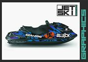 Seadoo Rxp Rxpx 2012-2020 Graphics Set Decals Stickers Kit For Jet Ski