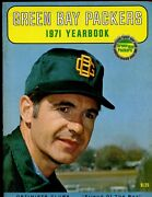 1971 Nfl Football Optimists Club Green Bay Packers Yearbook Exmt