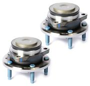 Pair Set Of 2 Front Wheel Bearings Hub Assemblies Acdelco For Chevy Corvette Hd